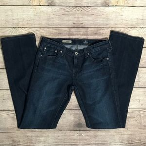 AG The Ballad Dark Wash Slim Bootcut Jeans